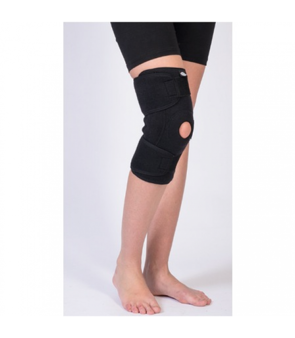 OL-5004 Patella and Steel Hinge Supported Knee Support