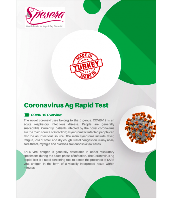 Covid 19 AG Rapid Test (Antigen Test)