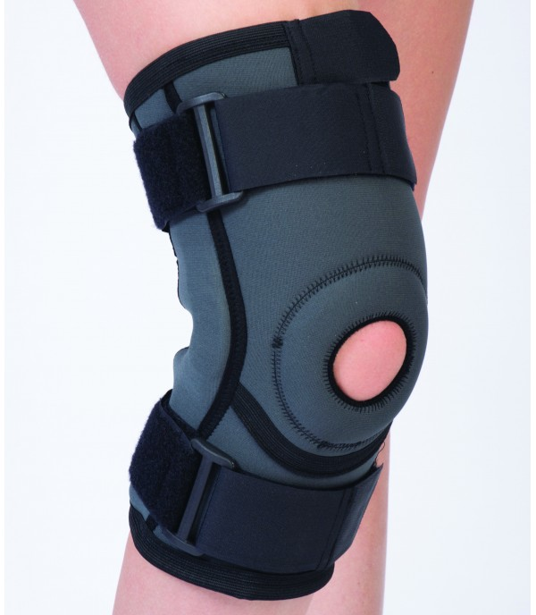 OL-2103 Patella and ligament supported knee support (long)